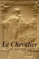 Le Chevalier First Anniversary